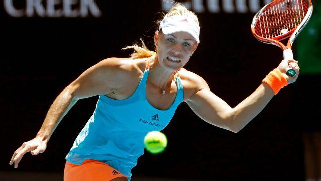 (1) A. Kerber vs. K. Pliskova (Women's Third Round)