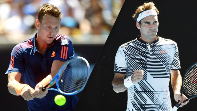 (10) T. Berdych vs. (17) R. Federer (Men's Third Round)