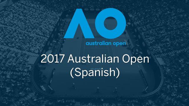 In Spanish - Australian Open 2017 (Third Round)