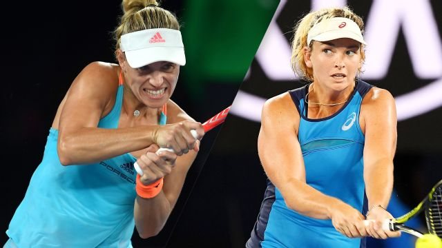 Replay - (1) A. Kerber vs. C. Vandeweghe (Women's Round of 16)