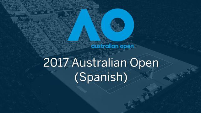 In Spanish - Australian Open 2017 (Cuartos de Final)