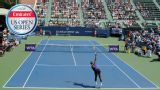 V. Diatchenko vs. A. Tomljanovic (Bank of the West Classic) (First Round)