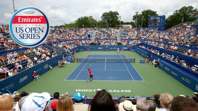 2015 Emirates Airline US Open Series - Winston-Salem Open (Quarterfinals #2, #3 & #4)