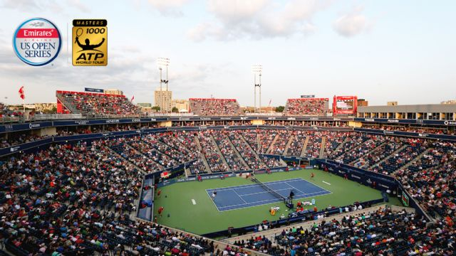 (4) M. Raonic vs. J. Donaldson - 2016 Emirates Airline US Open Series - Rogers Cup (Round of 16)