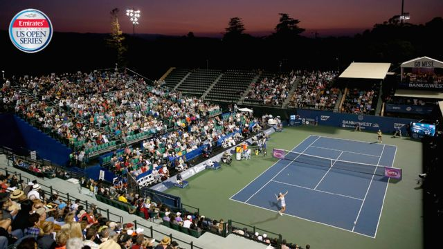 (1) S. Williams vs. A. Riske - 2016 Emirates Airline US Open Series - Bank of The West Classic (Semifinal #2)