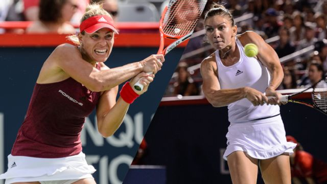 (2) A. Kerber vs. (5) S. Halep - 2016 Emirates Airline US Open Series - Rogers Cup (Women's Semifinal #1)