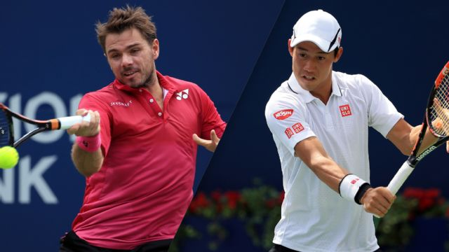 (3) K. Nishikori vs. (2) S. Wawrinka - 2016 Emirates Airline US Open Series - Rogers Cup (Men's Semifinal #1)