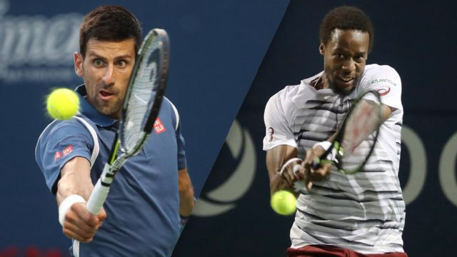 (1) N. Djokovic vs. (10) G. Monfils - 2016 Emirates Airline US Open Series - Rogers Cup (Men's Semifinal #2)