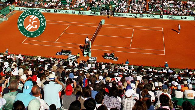 Court Philippe Chartrier (Day 10) (Men's & Women's Quarterfinals)