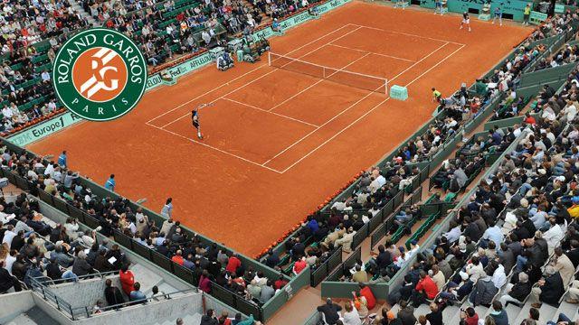 Court Suzanne Lenglen (Day 12) (Men's Doubles Semifinals)