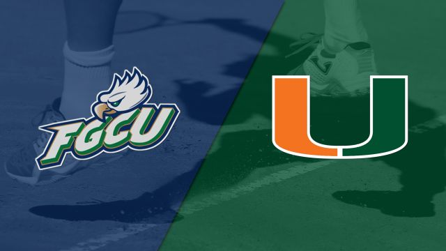 Florida Gulf Coast vs. Miami (M Tennis)