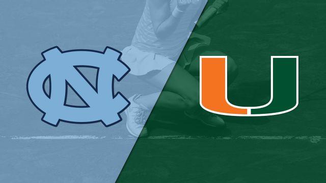North Carolina vs. Miami (W Tennis)