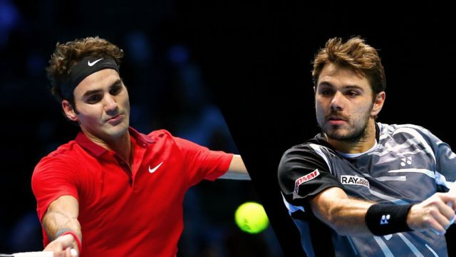 Roger Federer (SUI) vs. Stan Wawrinka (SUI) (Exhibition)