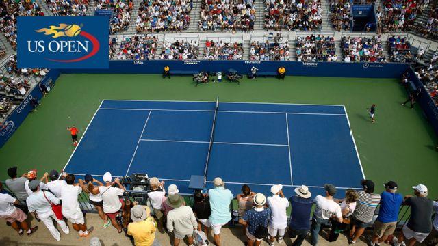 (7) D. Ferrer vs. R. Albot (Grandstand) (First Round)