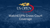 WatchESPN Cross-court Coverage (Second Round)