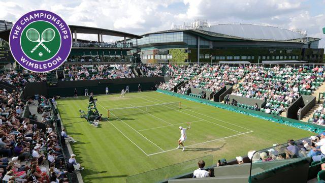 A. Dolgopolov vs. K. Edmund (First Round) (No. 3 Court)