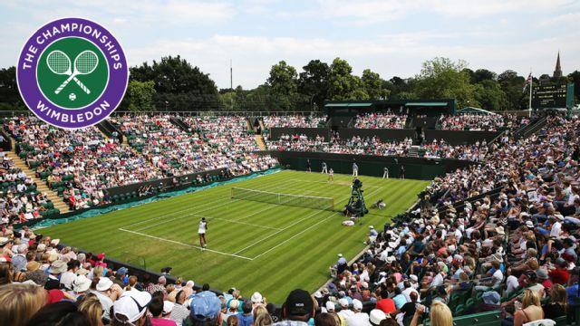 (13) J. Tsonga vs. G. Muller (First Round) (No. 2 Court)