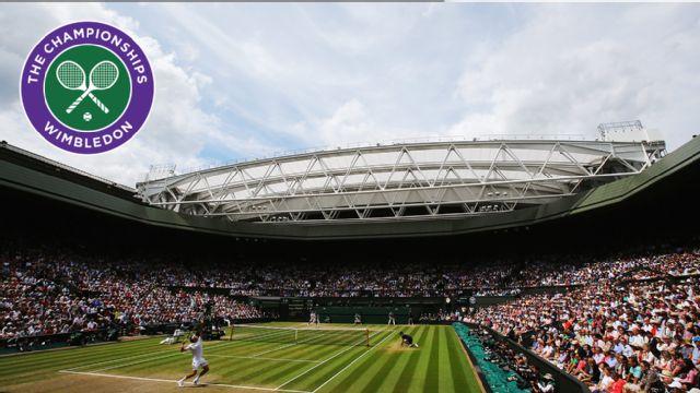 M. Bahrami / H. Leconte vs. T. Woodbridge / M. Woodforde (Centre Court) (Ladies' Quarterfinals)