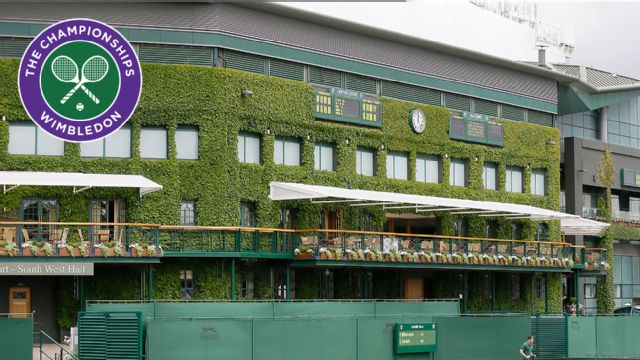 The Championships, Wimbledon 2015: Coverage pres. by Voya Financial (Gentlemen's Quarterfinals: No. 1 Court)