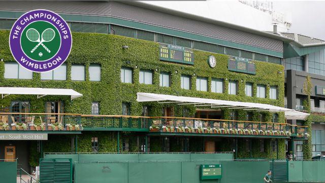 The Championships, Wimbledon 2015: Coverage pres. by Voya Financial (Gentlemen's Quarterfinals: No. 1 Court)