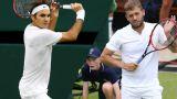 (3) R. Federer vs. D. Evans (Gentlemen's Third Round)