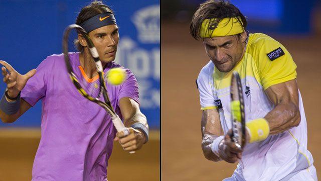 Rafael Nadal (Esp) vs. David Ferrer (Esp) (Championship): Abierto Mexicano Telcel