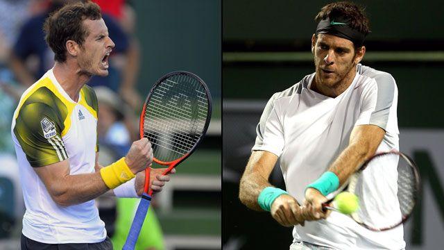 Andy Murray (Gbr) vs. Juan Martin del Potro (Arg) (Men's Quarterfinal #4)