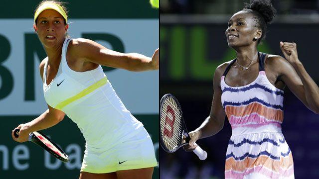 Madison Keys (USA) vs. Venus Williams (USA) (Quarterfinal)