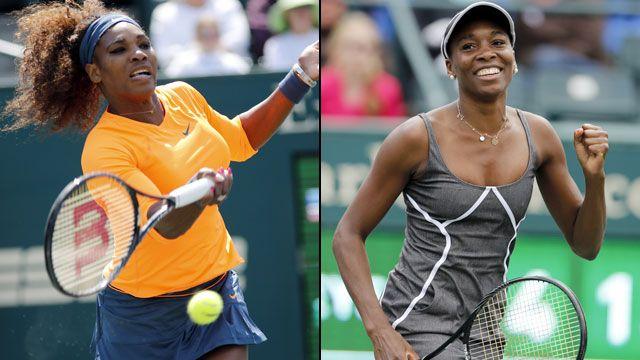 Serena Williams (USA) vs. Venus Williams (USA) (Semifinal #1)