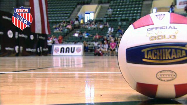 AAU Girls' Junior National Volleyball Championships (International Championship)