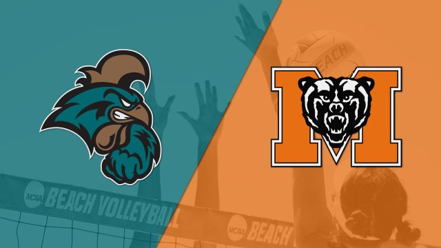 Coastal Carolina vs. Mercer (Beach Volleyball)