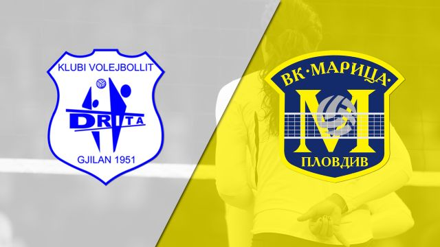 KV Drita Gjilan vs. Maritza Plovdiv (CEV Women's Champions League)