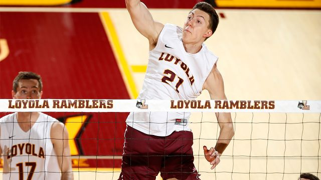 University of Charleston vs. #5 Loyola-Chicago (M Volleyball)