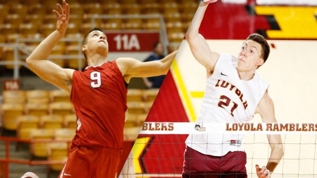 #9 Ohio State vs. #5 Loyola-Chicago (M Volleyball)
