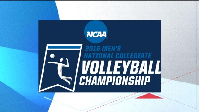 2016 NCAA Men's Volleyball Championship Trophy Presentation