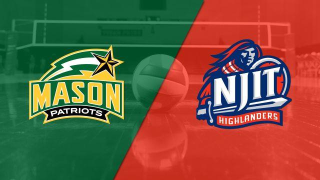 #15 George Mason vs. NJIT (M Volleyball)