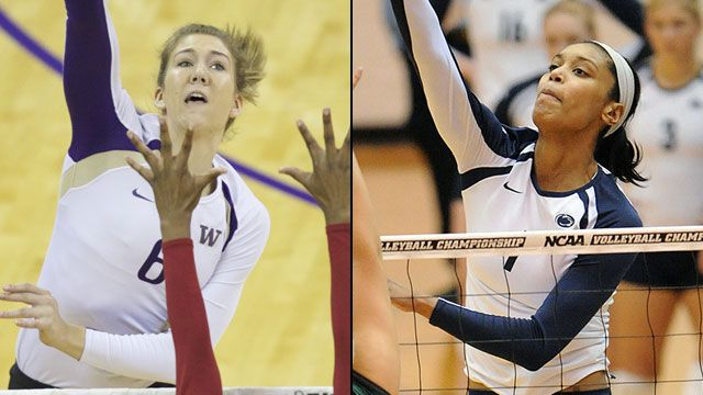 Washington vs. Penn State (Semifinal #2): NCAA Women's Volleyball Championship