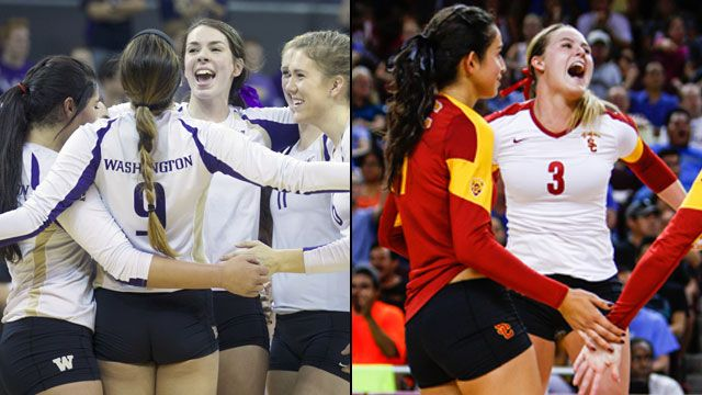 Washington vs. USC (Regional Final): NCAA Women's Volleyball Championship