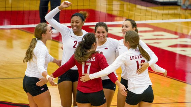 Arkansas vs. Creighton (First Round): NCAA Women's Volleyball Championship