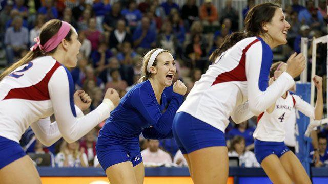 Wichita State vs. Kansas (First Round): NCAA Women's Volleyball Championship