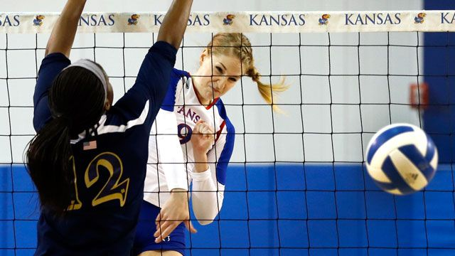 Creighton vs. Kansas (Second Round): NCAA Women's Volleyball Championship