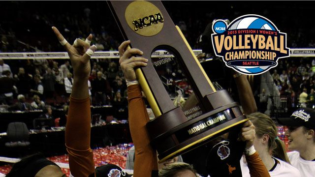 NCAA Women's Volleyball Championship Trophy Presentation