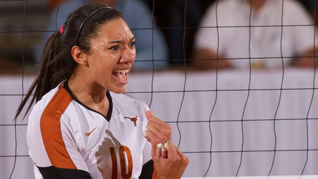 Texas Volleyball Orange & White Scrimmage - 8/23/2014