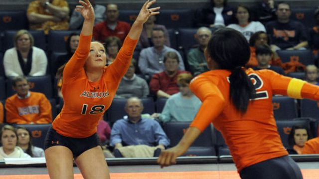 Northwestern State vs. Auburn (W Volleyball)