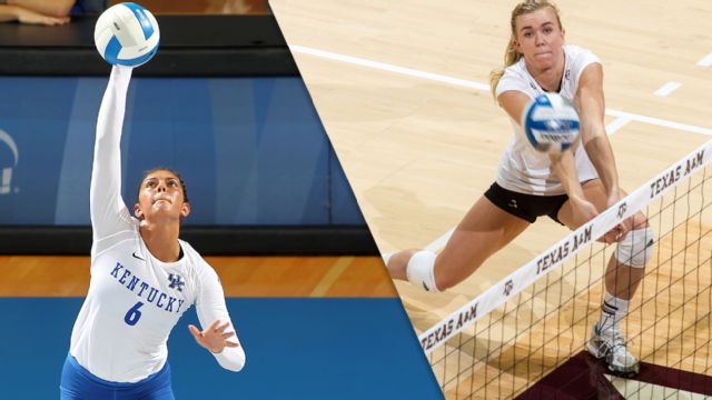 #16 Kentucky vs. #24 Texas A&M (W Volleyball)