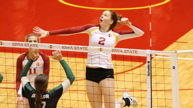 Kansas vs. Iowa State (W Volleyball)