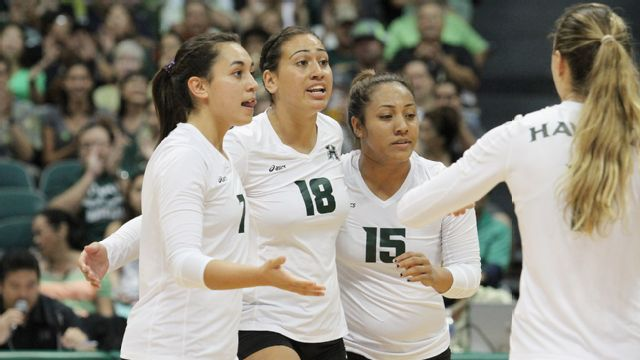 Hawaii vs. Cal State Fullerton (W Volleyball)