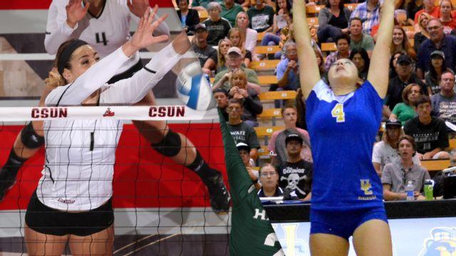 California State University, Northridge vs. UC Riverside (W Volleyball)