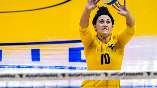 West Virginia vs. Kansas (W Volleyball)
