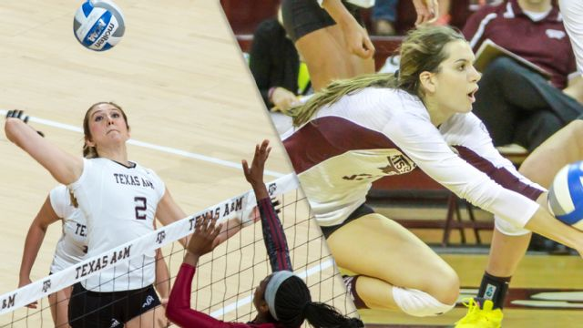 Texas A&M vs. Mississippi State (W Volleyball)